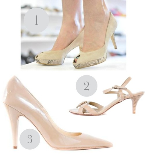 The nude shoe