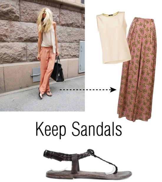 keep sandals