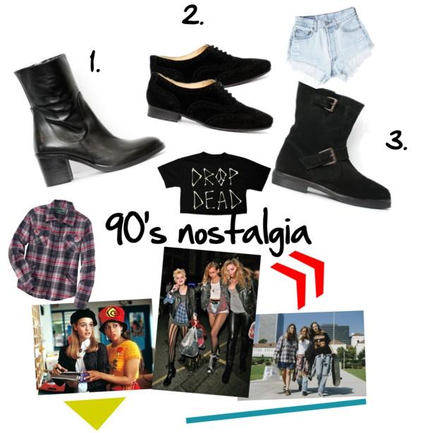 90's nostalgia shoe trend 2013