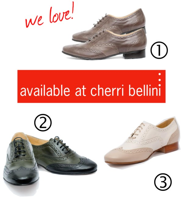 brogues available at cherri