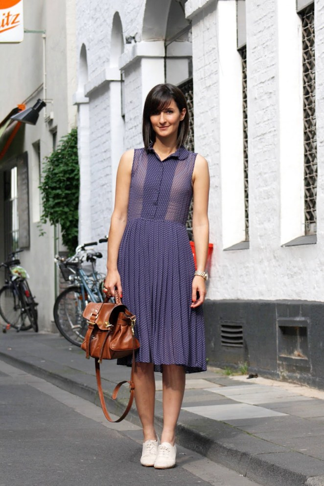 dress with brogues