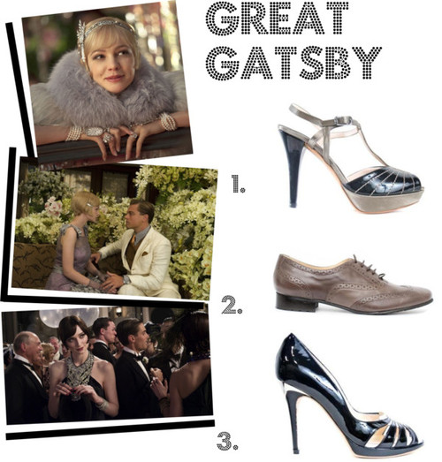 The great gatsby shoe trend