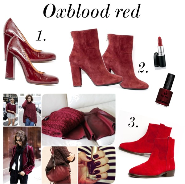 the oxblood shoe fashion trend
