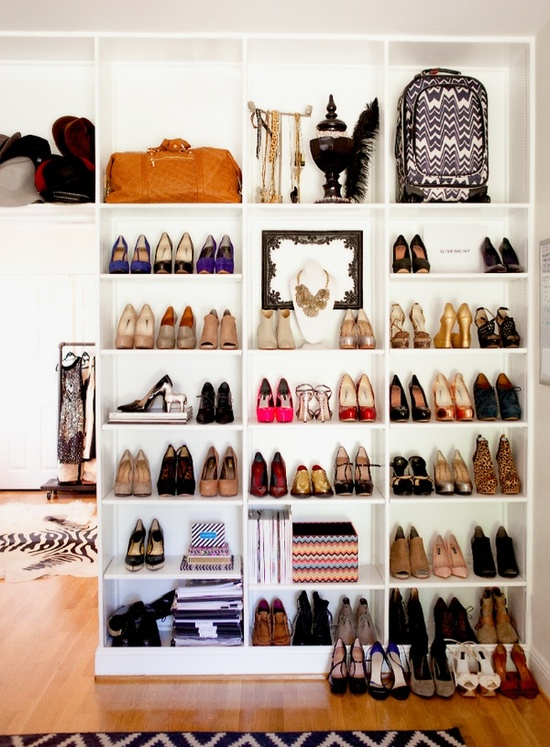 how to organise your shoes jpg