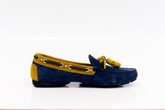 suede loafers Italian made