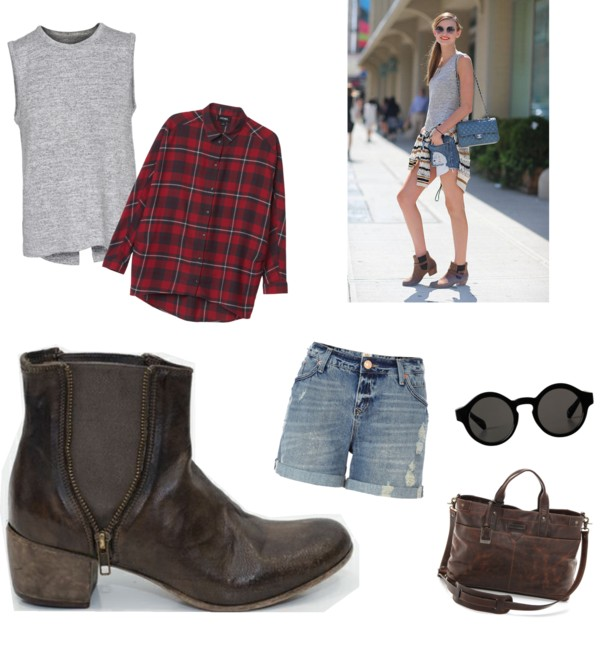 ankle boot 90's inspiration polyvore